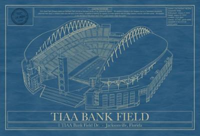 TIAA Bank Football Field Blueprint