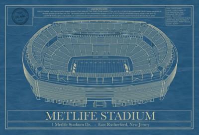 MetLife Stadium Blueprint
