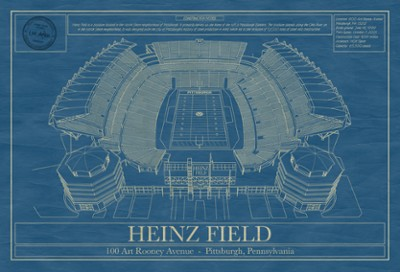 Heinz Field Blueprint