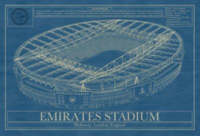 Emirates Stadium Blueprint