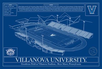 Villanova Football Stadium Blueprint
